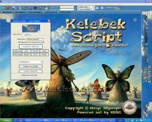 Screenshot for Kelebek Script